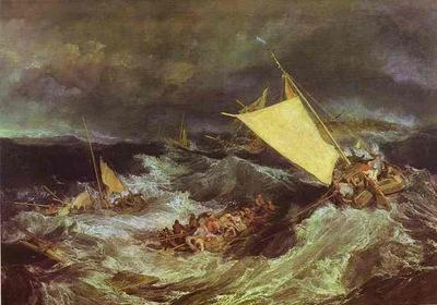 William Turner The Shipwreck