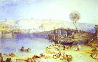 William Turner View of Saint Germain ea Laye and Its Chateau
