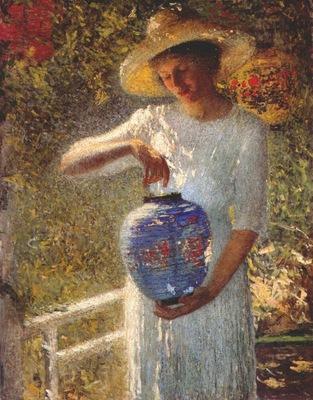 turner girl with lantern