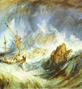 William Turner A Storm Shipwreck