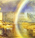 William Turner Arundel Castle, with Rainbow