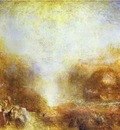 William Turner Mercury Sent to Admonish Aeneas
