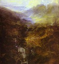William Turner Morning Amongst the Coniston Fells, Cumberland