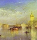 William Turner The Dogana, San Giorgio, Citella, From the Steps of the Europa