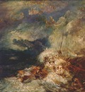 turner fire at sea c1835