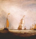 turner helvoetsluys the city of utrecht, 64, going to sea