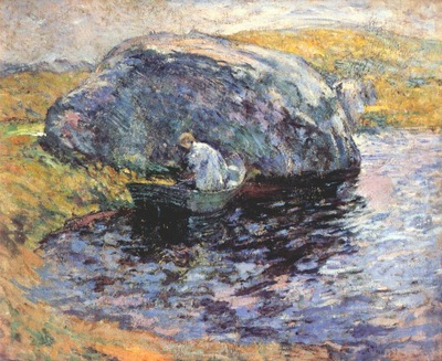 twachtman a summer day c1900