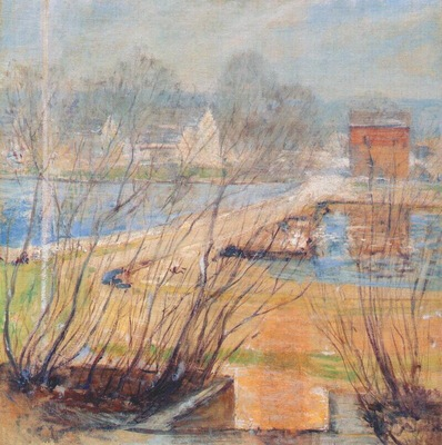 twachtman from the holley house cos cobb c1901