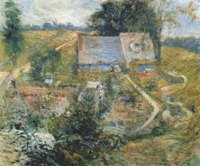twachtman from the upper terrace mid 1890s
