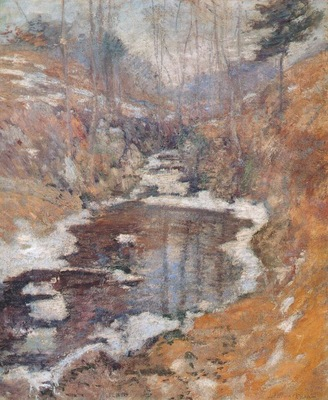 twachtman hemlock pool c1900
