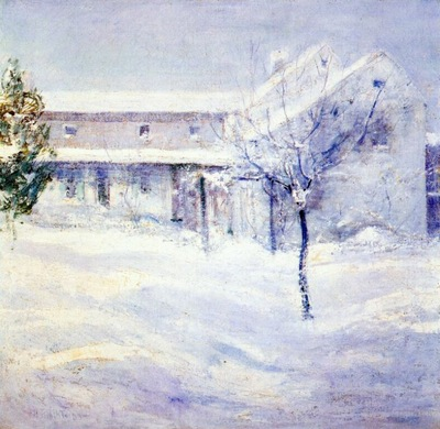 twachtman old holley house cos cob c1901