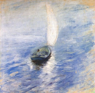 twachtman sailing in the mist c1890