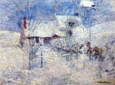 twachtman snowbound c1890s