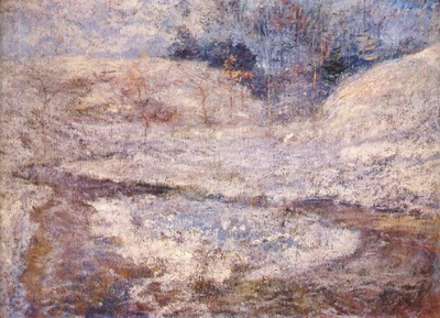 twachtman the brook, greenwich, connecticut c1890