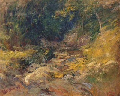 twachtman the hidden pool c1899