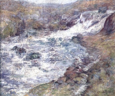 twachtman the torrent c1900