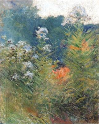 twachtman wildflowers c1890
