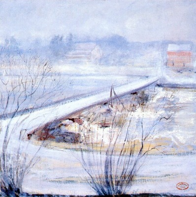 twachtman winter c1898