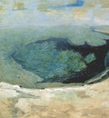 twachtman emerald pool yellowstone ii c1895