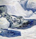 twachtman falls in january c1895