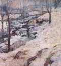 twachtman frozen brook c1893