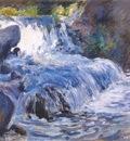 twachtman the waterfall c1895