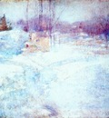 twachtman winter c1890