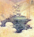 twachtman winter silence c1890