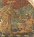 UCCELLO CREATION OF ADAM, fresk 1445, GREEN CLOISTER, SANTA