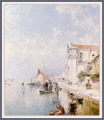 Unterberger View of the Zatteri Venice sj