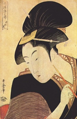 utamaro secret love early 1790s