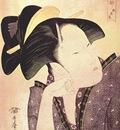 utamaro pensive love early 1790s
