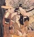 utamaro shower 3 center panel