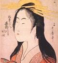 utamaro the courtesan kisegawa of the matsubaya c1795