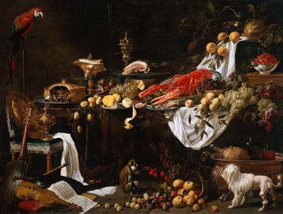 Utrecht van Adriaen Feast dish Sun