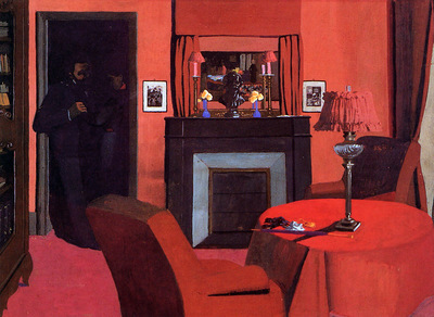 Vallotton Felix La chambre rouge