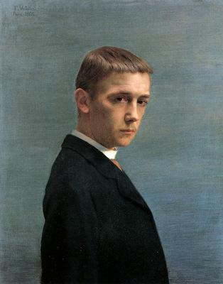 Vallotton Felix Mon portrait Sun