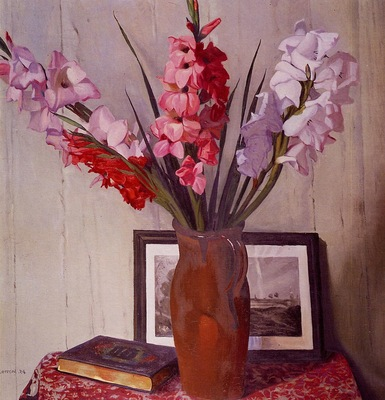 Vallotton Felix Still Life with Gladioli