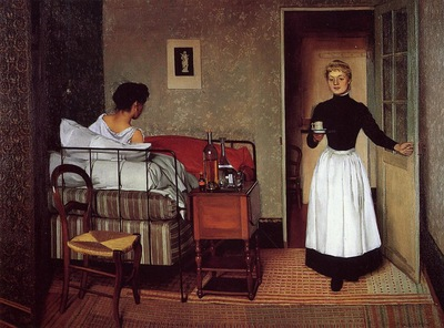 Vallotton Felix The Sick Girl
