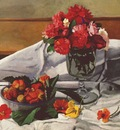 vallotton flowers and strawberries