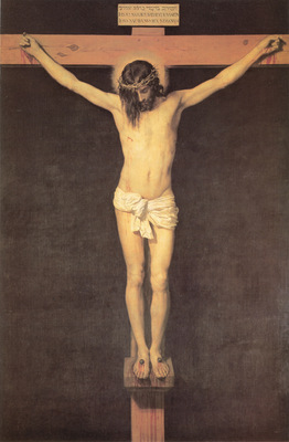 Velazquez Christ on the Cross