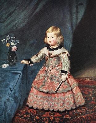 Velazquez Infanta Marguarite Therese