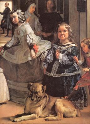 Velazquez Las Meninas detail