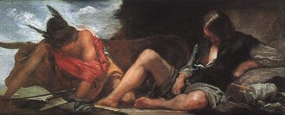Velazquez Mercury and Argus