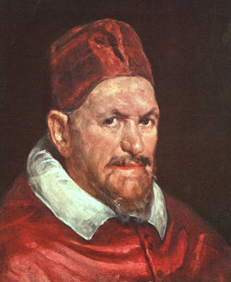 Velazquez Pope Innocent X