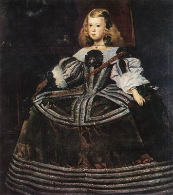 Velazquez Portrait of the Infanta Margarita