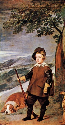 Velazquez Prince Baltasar Carlos as Hunter