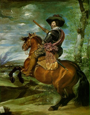 Velazquez The Count Duke of Olivares on Horseback