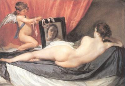 Velazquez Venus at her Mirror
