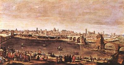 Velazquez View of Zaragoza